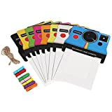 Polaroid Colorful Vintage Photo Frames for 3x4 ZINK Paper (POP)