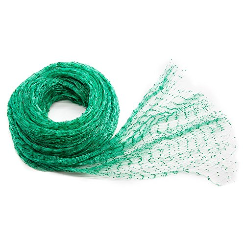 - Casaffetto Anti-Bird Netting 33 Ft x 13 Ft Green Garden Plant Netting Garden Plant Fruits Fencing Mesh Protect Plants Fruits from Birds