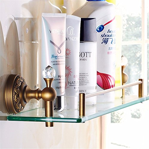 LAONA All European antique bronze ribbon drill, bathroom fittings, paper reel, soap box,Rack 1 by LINA bathroom accessories (Image #1)