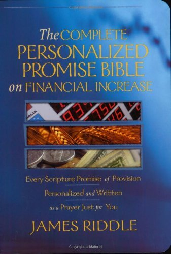 The Complete Personalized Promise Bible on Financial Increase - 3