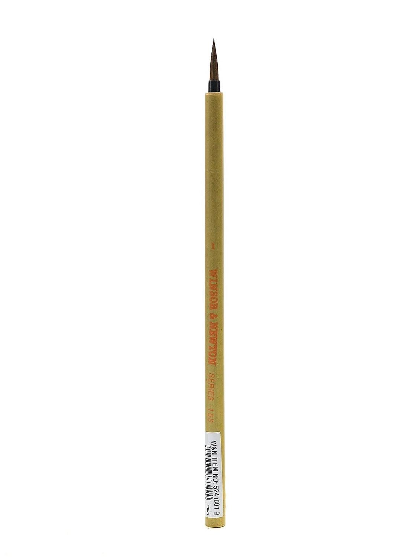 Winsor /& Newton Series 150 Bamboo Short Handle Brush-Round #8 8