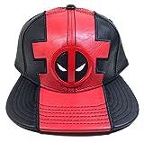 Marvel Comics Deadpool Suit Up Pu Faux Leather Snapback