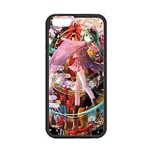 iPhone 6 Plus 5.5 Inch phone case Black Hatsune Miku GHHL6531021