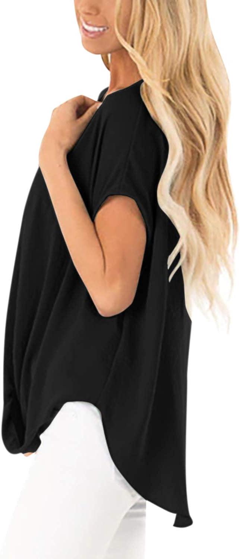 stile casual a maniche corte con bottoni Camicia estiva da donna YOINS