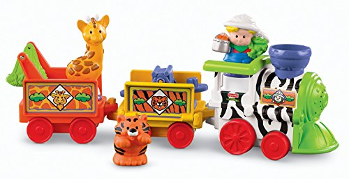 Learning Zoo (Fisher-Price Little People Musical Zoo Train)