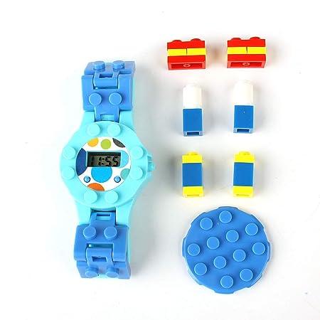 CHIGANT DIY Bloques de Construcción Juguetes de Bricolaje para Niños con Inserciones de Colores Modelo Juguetes Educativos: Amazon.es: Juguetes y juegos