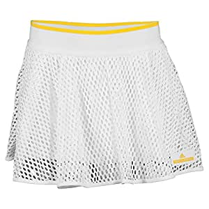 Adidas Women's Stella McCartney Skort-Wimbledon-White/Wonder Glow-S