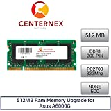 512MB RAM Memory for Asus A6000G (A6G) (PC2700) Laptop Memory Upgrade by US Seller