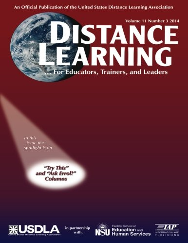 Download Distance Learning - Journal Issue: Volume 11 #3 PDF