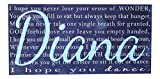 ''I Hope You Dance'' Lyrics Personalized on Wood or Canvas with Child's Name- Madi Kay Designs