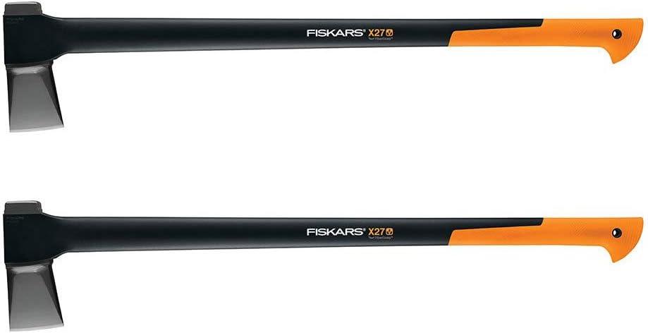 Fiskars 378841-1002 X27 Super Splitting Axe 36 , Inch, Black 2 Pack