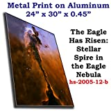 The Eagle Has Risen: Stellar Spire in the Eagle Nebula, Aluminum Panel, 24
