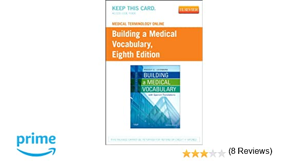 Medical Terminology Online for Building a Medical Vocabulary ...