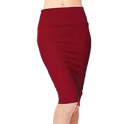 Shenye - Falda corta sexy para mujer, estilo moderno, talla media ...