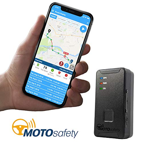 (MOTOsafety MTAS1 Mini Portable Real Time Personal Tracking and GPS Tracker)