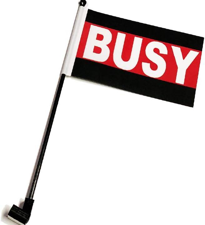 Busy escritorio bandera con bandera bandera de Up down 360 Clip ...