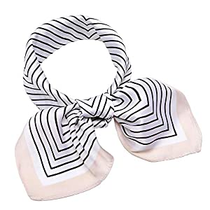 27″ Silk Like Scarf Square Satin Hair Scarves Fashion Neck Scarfs for Women