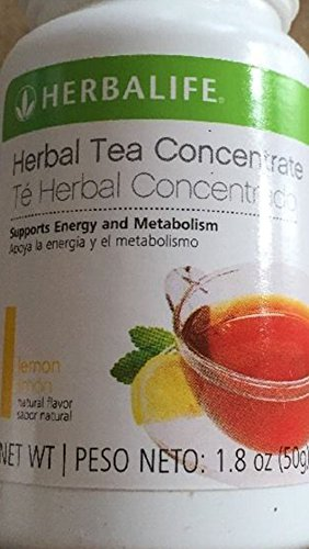 New Herbalife Tea Concentrate Lemon Flavor 1.8 Oz By Siamproviding