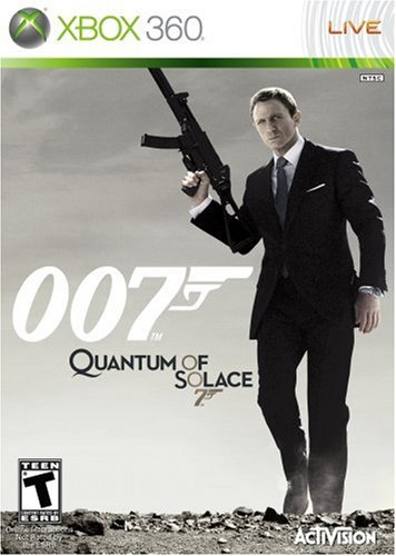 James Bond 007: Quantum of Solace - Xbox 360 (Video Game Goldeneye)