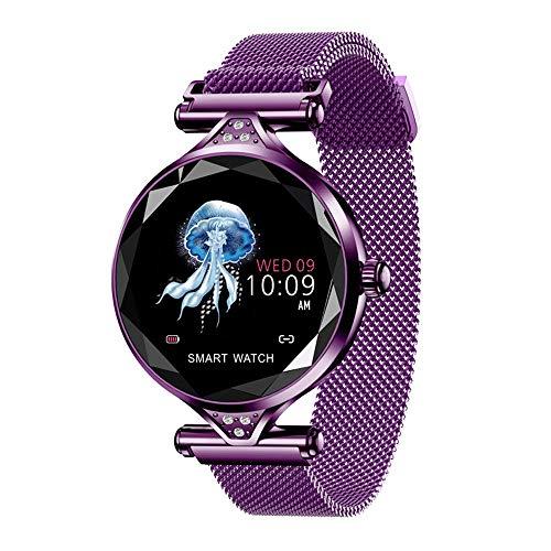 (ZJYSM Smart Bracelet Fashion Women's Color Screen Smart Bracelet IP68 Waterproof Sports Watch Heart Rate Sleep Monitoring Pedometer Male Female Children Activity Tracker Android and iOS Smart Watch)