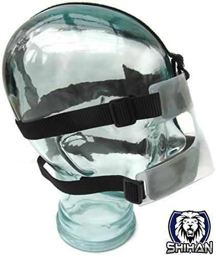 Cage Fighting Shihan Bjj NOSE GUARD , MMA Grappling,Wrestling , Rugby , JUDO, Wrestling , Marines Training Budo Training NOSE Protection by SHIHAN POWER-SPORTS by SHIHAN POWER-SPORTS