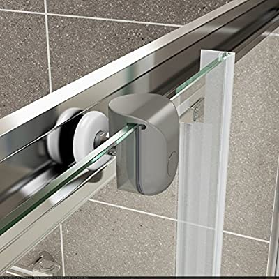 Baños de estilo moderno ValueBaths Fenwick 1500 mm deslizante ...