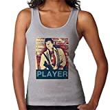 POD66 Roger Moore The Wild Geese South Africa 1977 Women's Vest