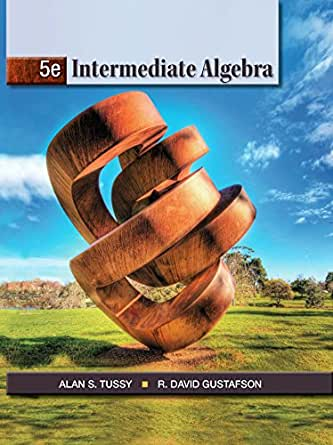 Intermediate algebra tussy ebook free