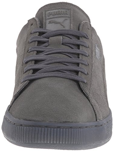PUMA Men's Suede Emboss Iced Fashion Sneakers, Dark Shadow, 9 D US Photo #8