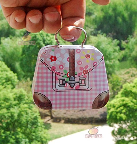 1/6 Barbie Blythe Size Bag Doll Dollhouse Miniature Toy Trunk Box Suitcase Luggage Traveling Case