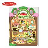 Melissa & Doug Puffy Sticker Play Set, Chipmunk (Reusable Activity Book,75 Stickers, Great for Travel)