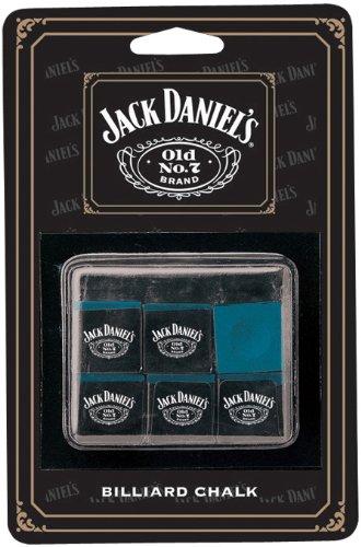 (Jack Daniel's Billiard Chalk - 6 Piece)