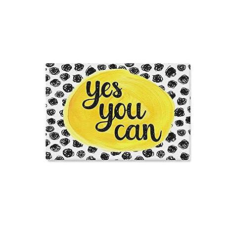 Amazon.com: InterestPrint Yes You Can Fighting Polka Dot ...