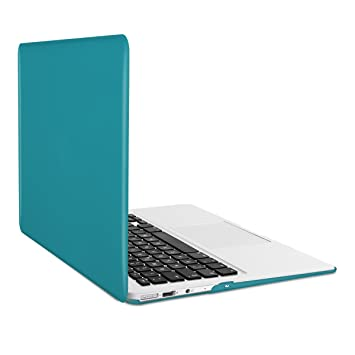 kwmobile Funda para Apple MacBook Air 13(2011-mediados de 2018) Case Protector Duro para Laptop - Carcasa Delgada y Transparente en ...