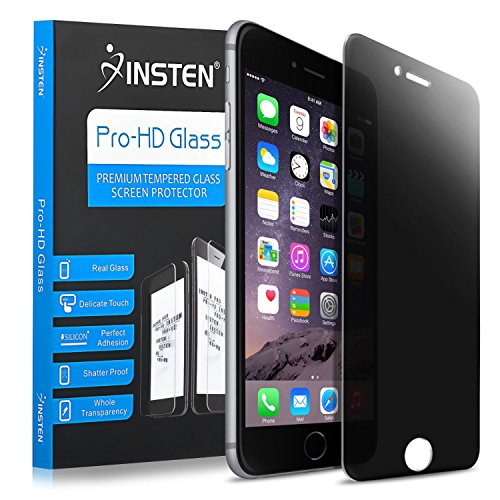 Compatible with iPhone 6 Plus/iPhone 6S Plus Screen Protector, Insten Privacy 360 Degree Anti-spy Anti-Shatter Glass Screen Protector Compatible with Apple iPhone 6 Plus/iPhone 6S Plus - 6 Break Screen Iphone Anti