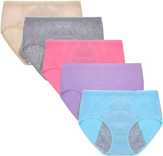 Anntry Chicas Grandes Algodón de protección Período Menstrual ...