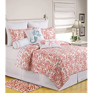 51mTQZdBIxL._SS300_ Coastal Bedding Sets & Beach Bedding Sets