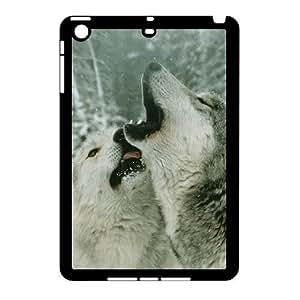ALICASE Diy Gray Wolf Phone Case For iPad Mini [Pattern-1]