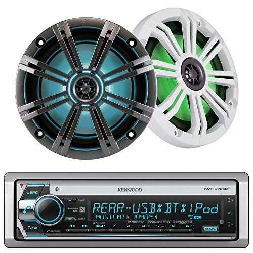 Kenwood Marine Boat Yacht Outdoor CD MP3 USB Aux Bluetoot...