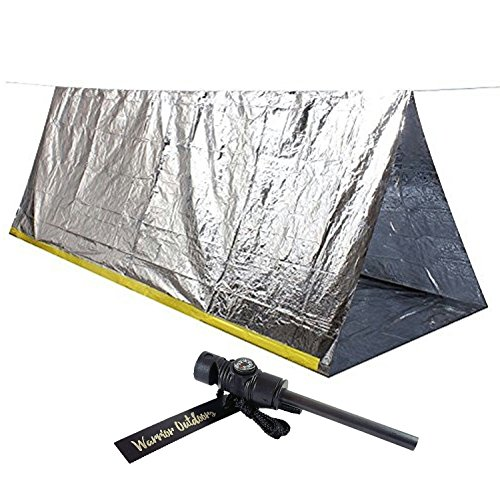 Emergency Mylar Tube Tent u0026 Magnesium Fire Starter Kit | 8u0027 X 5u0027 Thermal  sc 1 st  Lifestyle Updated : emergency tube tent - memphite.com