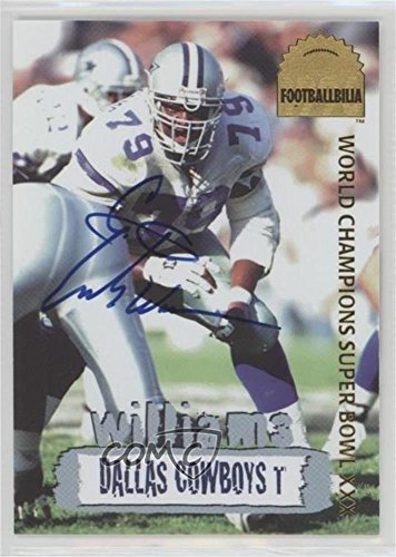 Edge Collectors Autographed Card (Erik Williams #956/4,000 (Football Card) 1996 Collector's Edge - Cowboybilia - Footballbillia Autographs [Autographed] #DCA-18)