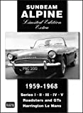 Sunbeam Alpine, 1959-1968, R. M. Clarke, 1855206862