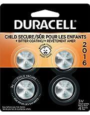 Duracell - 2016 3v Lithium Coin Battery - Long Lasting Battery - 4 Count 0.022 kilogram (5009690)