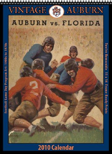 Vintage Auburn Tigers 2010 Football Program Calendar