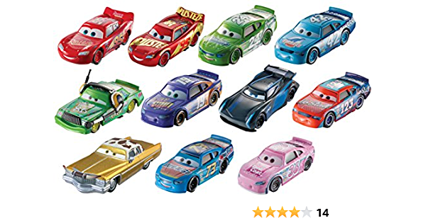 Disney Pixars Cars 11 Pack Piston Race Cup Next Gen Exclusive Same Day Ship Bolt