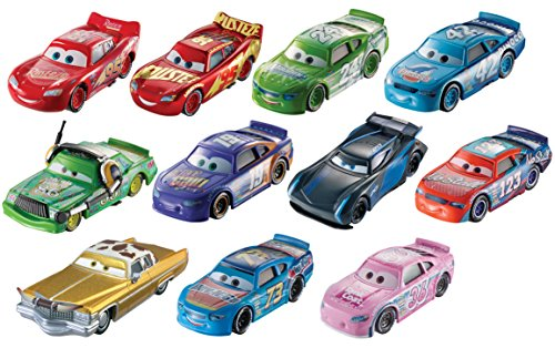 Disney Pixar Cars 3 - Desert Race Diecast Vehicle 11 Car Gift Pack 3 Diecast Action Figure