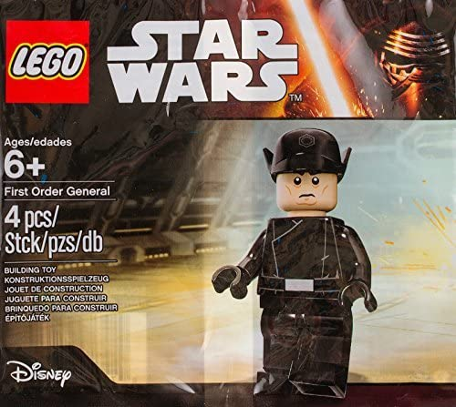 Lego Star Wars First Order General Poly Bag Sealed Minifigure by LEGO