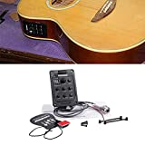 Fishman 4-Band EQ Equalizer Acoustic Guitar Pickup Guitar Tuner Black Color