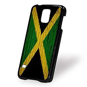 Case for Samsung Galaxy S5 (5 V) - Flag of Jamaica - Jamaican - Bricks
