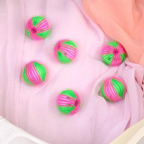 6PCS/pack Laundry Ball - Washing Ball - Reusable Dryer Balls -Magic Hair Removal Laundry Ball - Decontamination Magic laundry Washing Ball- Clothes Personal Care Hair